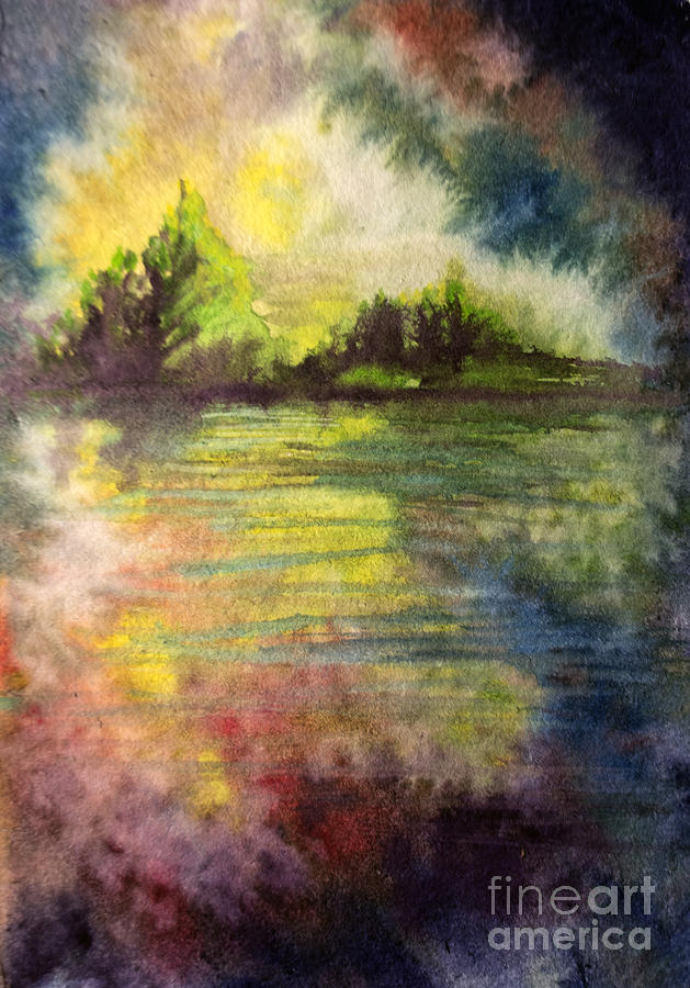 Soft Reflect Painting