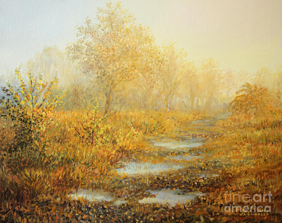 Nature Painting - Soft Warmth by Kiril Stanchev
