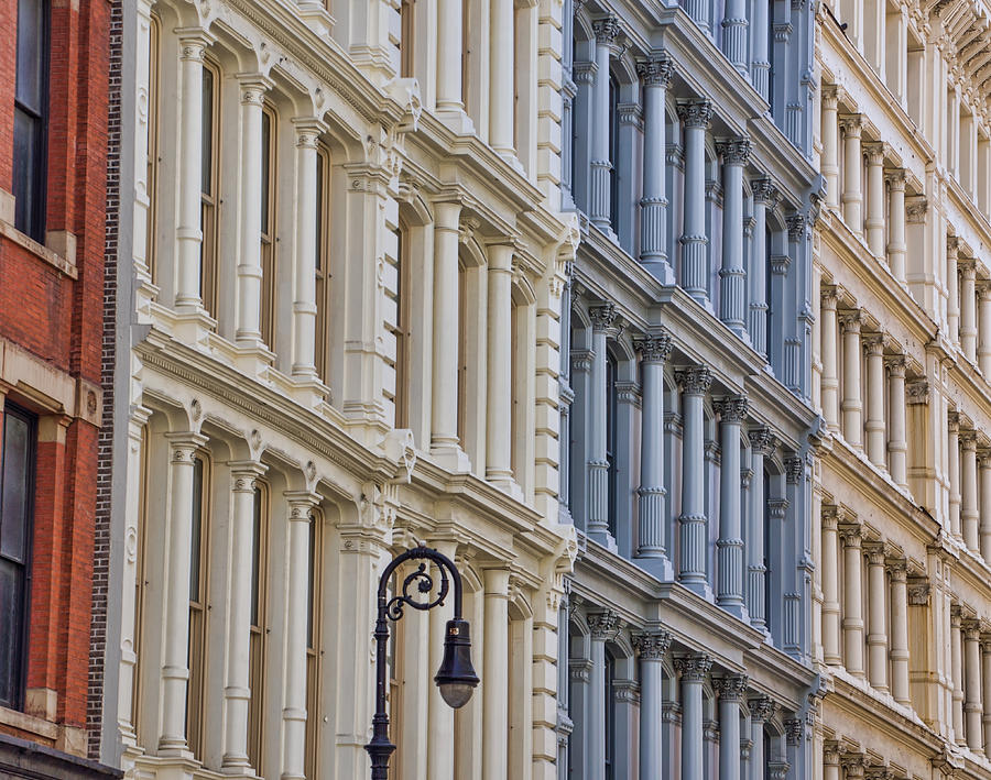 Nyc Photograph - Soho Architecture by June Marie Sobrito
