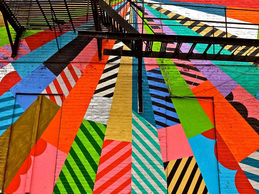 Soho Wall Art In New York City-ny Photograph by Ruth Hager