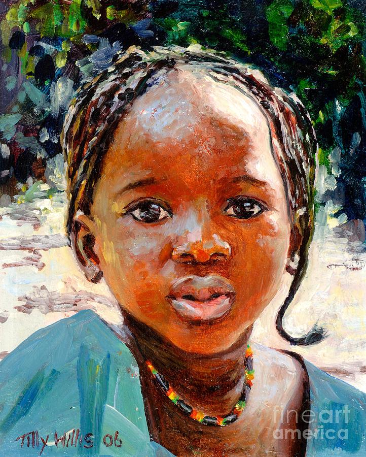 Sokoro Painting - Sokoro by Tilly Willis