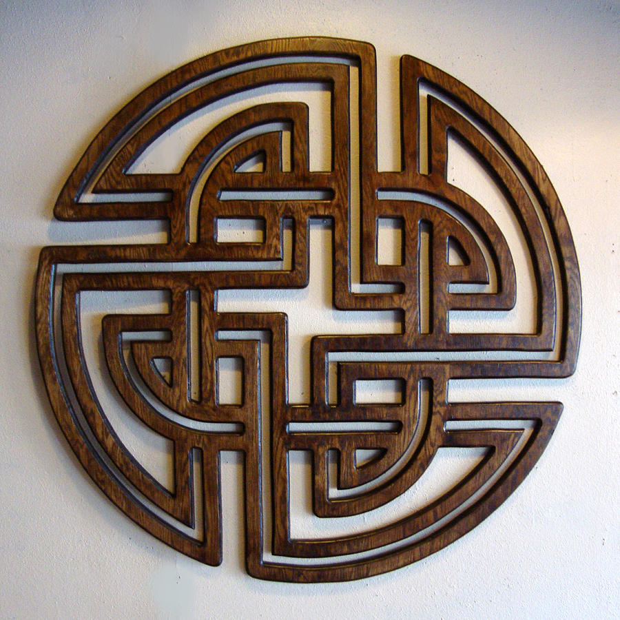 Celtic Sculpture - Sol Three by Matthew Ridgway