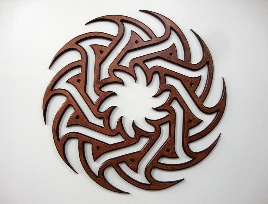 Celtic Sculpture - Sol Five by Matthew Ridgway