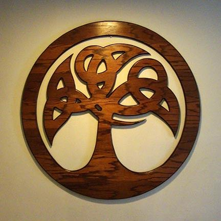 Celtic Sculpture - Sol Tree by Matthew Ridgway