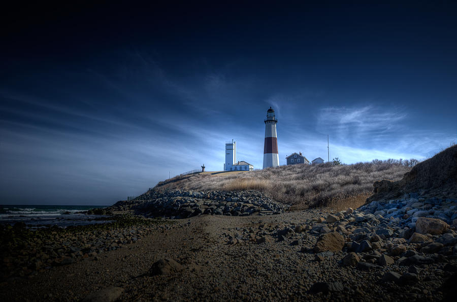 Montauk Point Photograph - Solace by Johnny Lam