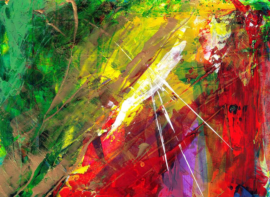 Solar Flare  Painting by Thomas Lupari