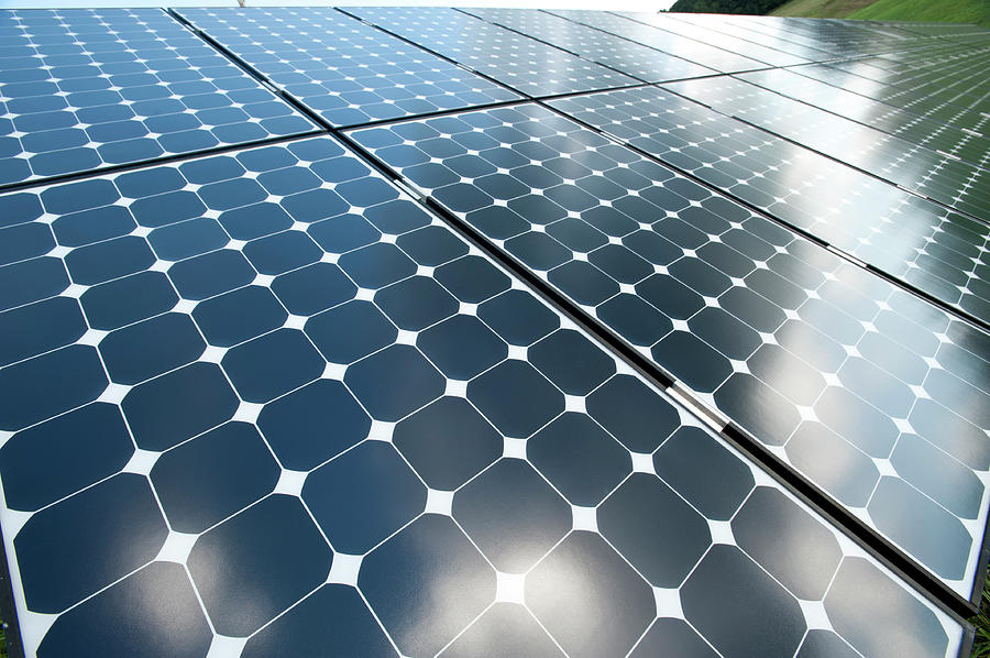 Solar Panels Photograph by Joecicak