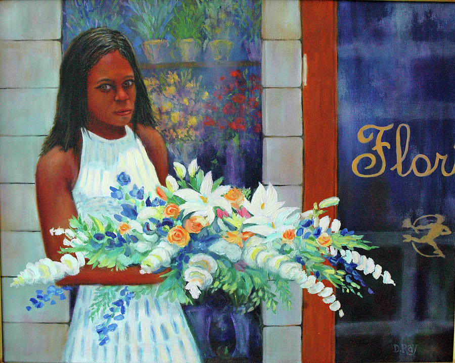 Funeral Painting - Solemn Occasion by Dwain Ray