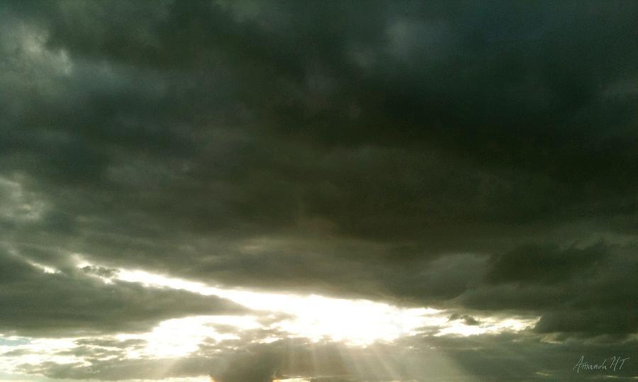 Sun Photograph - Solis Gratium by Amanda Holmes Tzafrir