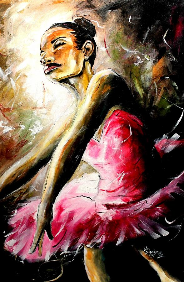 Dancer Painting - Solitude by Henry Blackmon