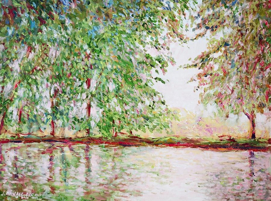 Landscape Painting - Solitude by J Michael Orr