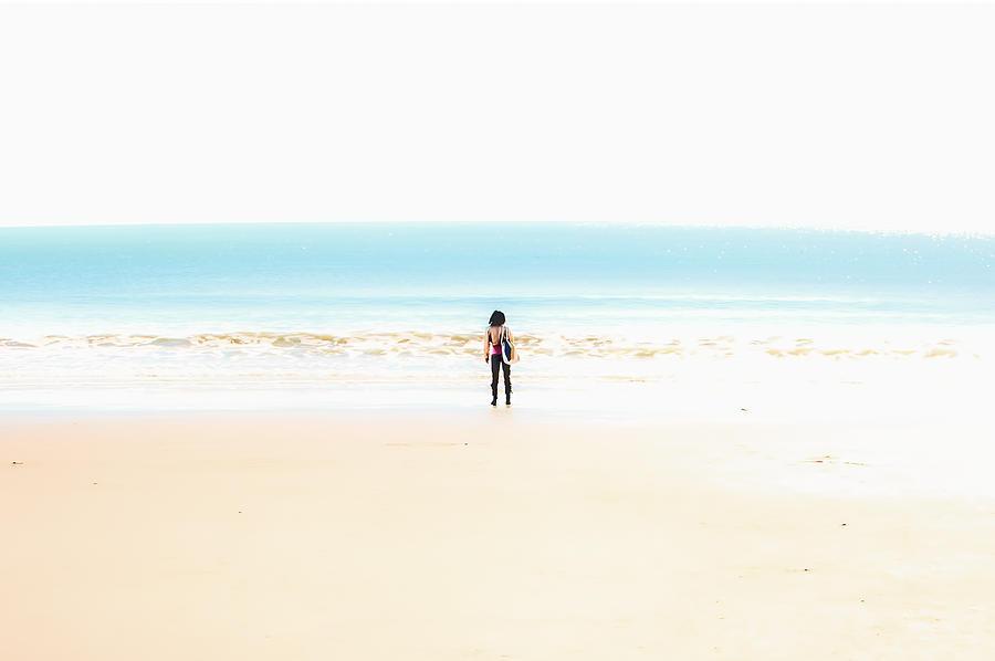 Beach Photograph - Solitude by Joshua Minso