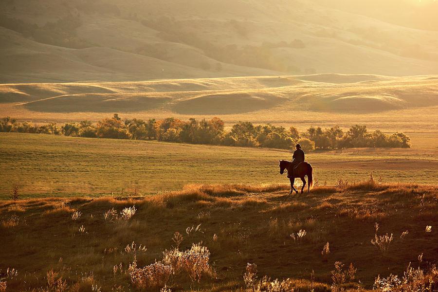 Solitude Sunrise Photograph by Deborah Johnson