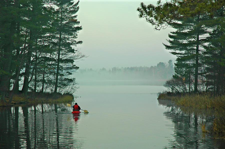 Kayak Photograph - Solo by RJ Martens