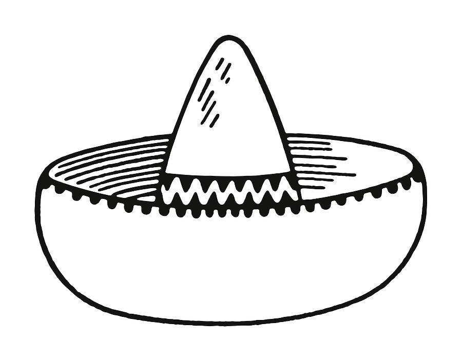 Sombrero Drawing by CSA-Archive