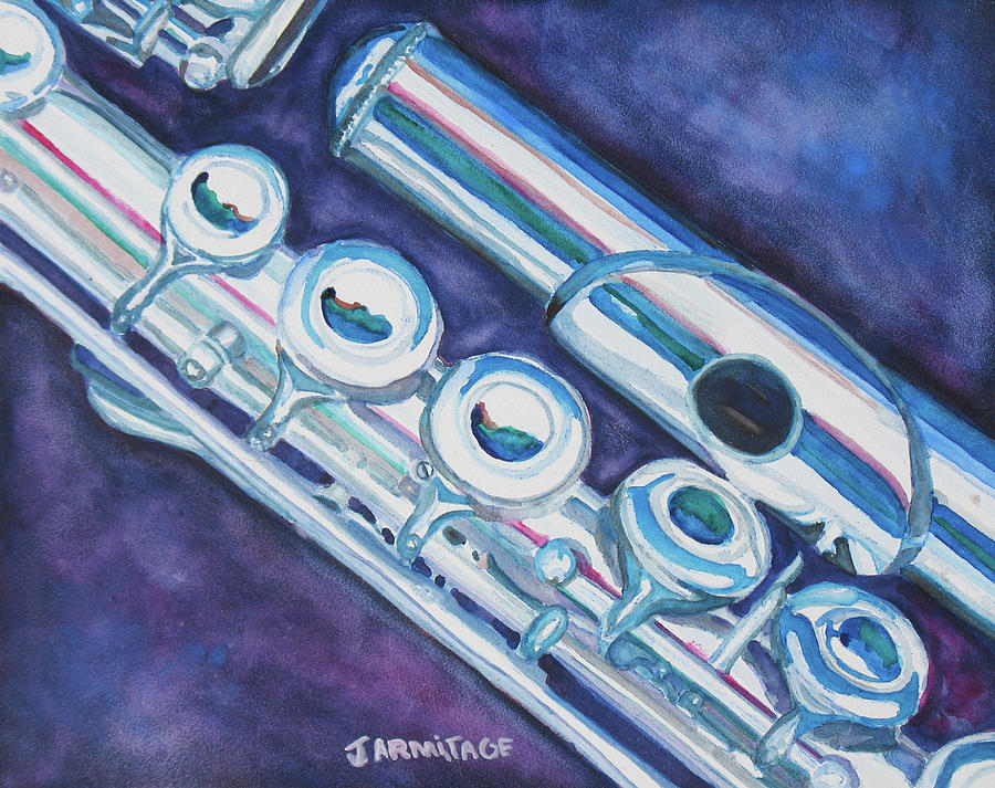 Flute Painting - Some Assembly Required by Jenny Armitage
