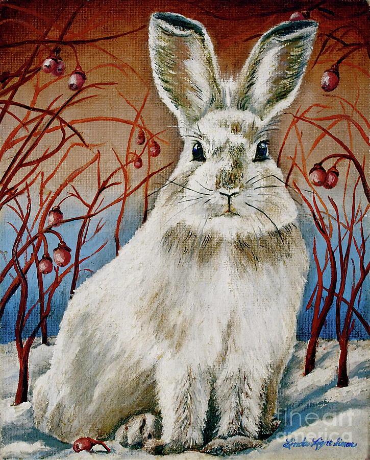 Linda Simon Painting - Some Bunny Is Charming by Linda Simon