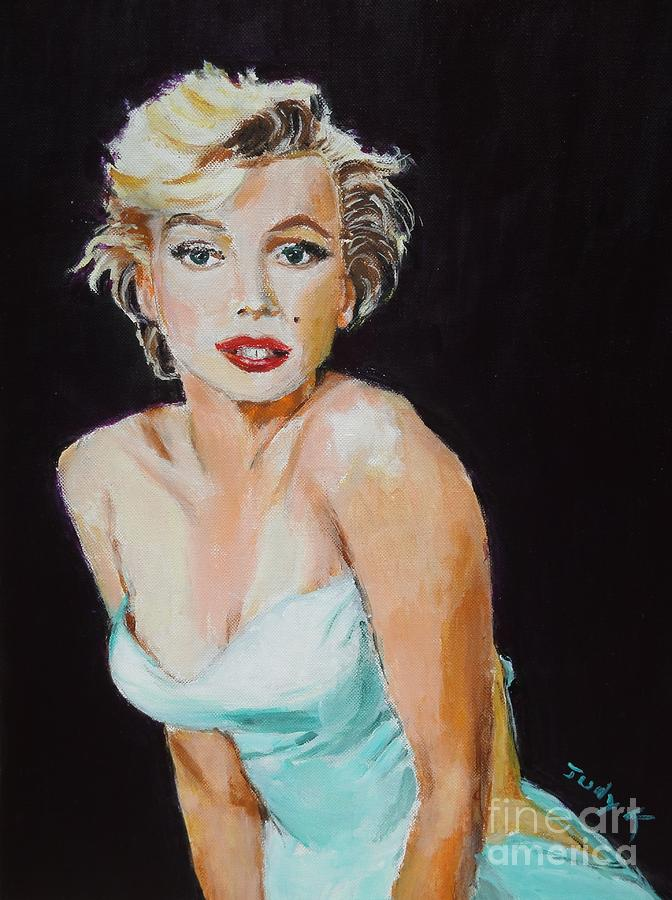 Marilyn Painting - Some Like It Hot by Judy Kay