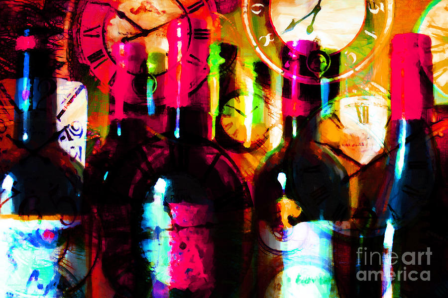 Wine Photograph - Some Things Get Better With Time M20 by Wingsdomain Art and Photography