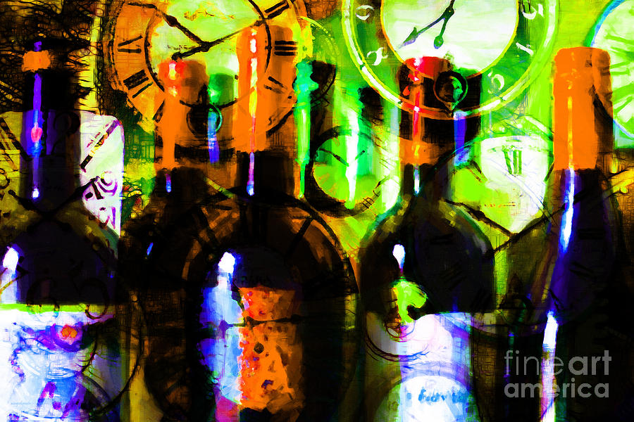 Wine Photograph - Some Things Get Better With Time P28 by Wingsdomain Art and Photography