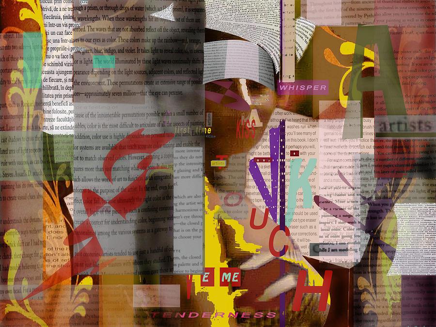 Digital Painting Digital Art - Some Words by Mocanu Marius