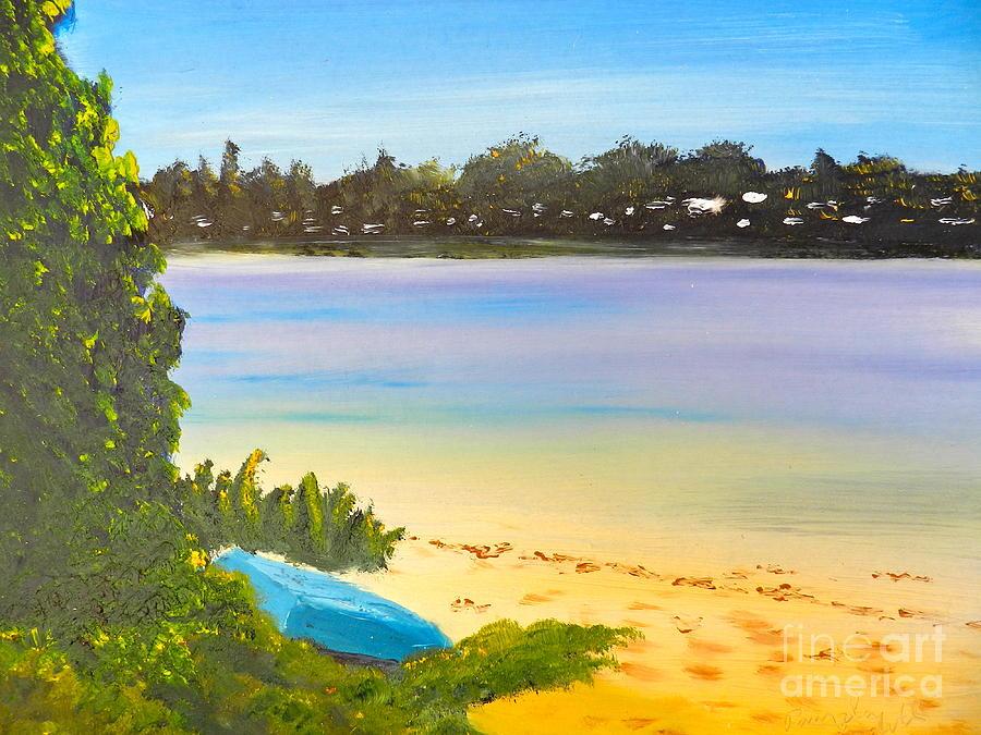 Impressionism Painting - Somento Victoria Australia by Pamela  Meredith