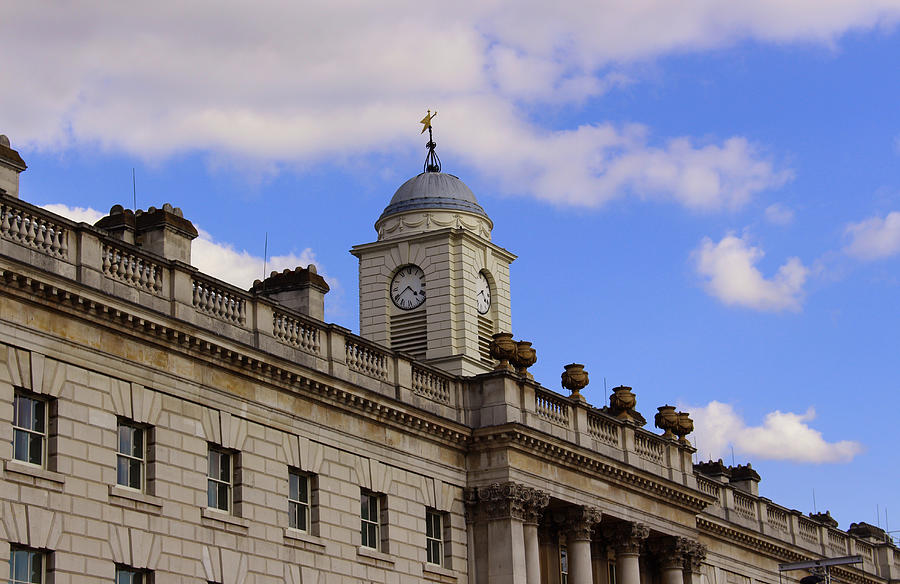 Somerset House Photograph - Somerset House by Nicky Jameson