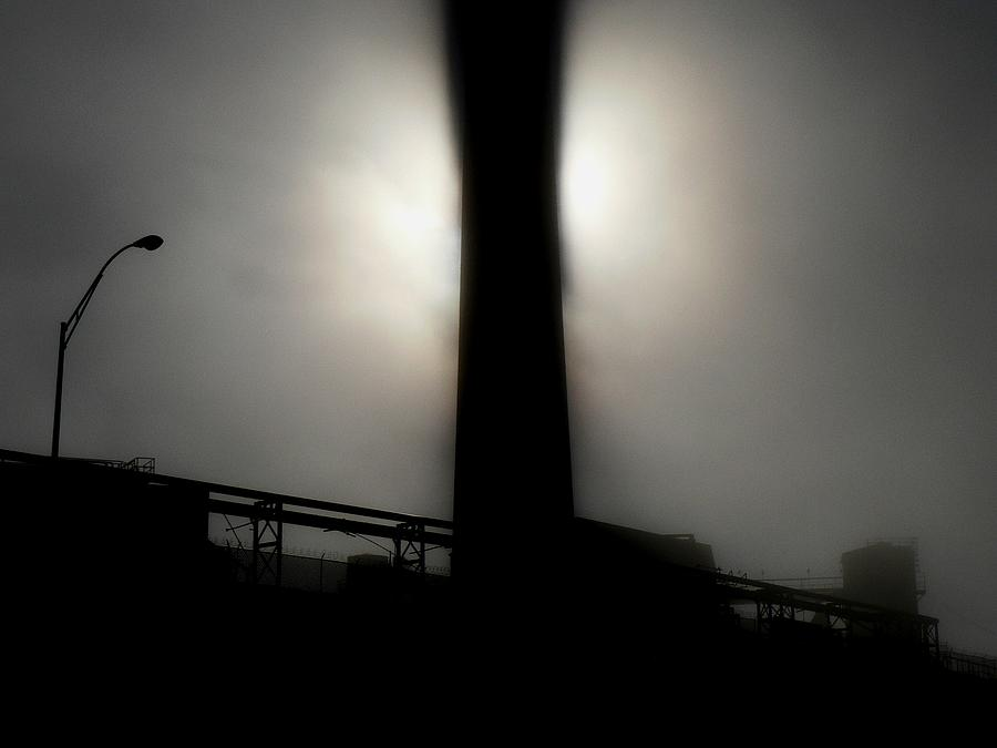 Sky Photograph - Something In The Way by M Pace