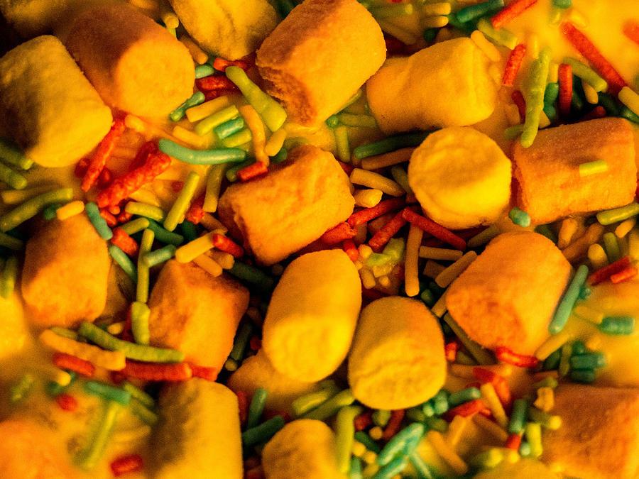 Marshmallow Photograph - Something Sweet by Ankeeta Bansal