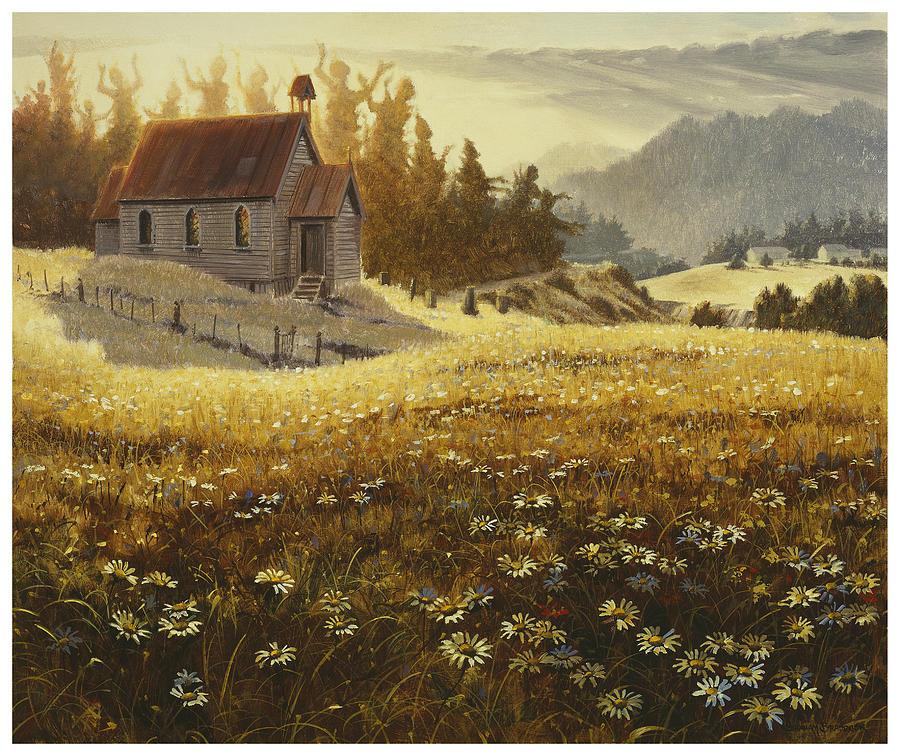 Biblical Painting - Somethings Happening by Graham Braddock