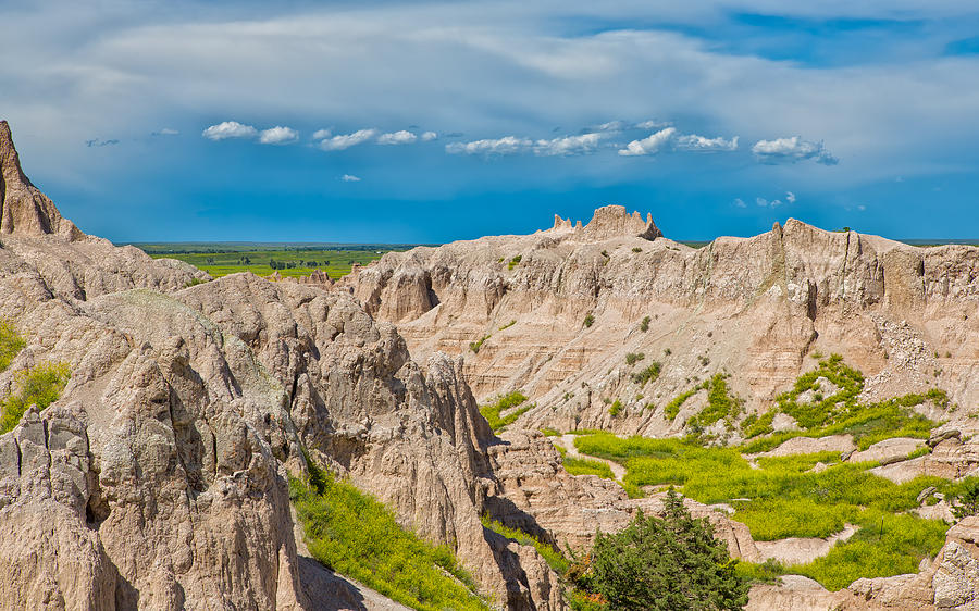 Sometimes its Good in the Badlands by John M Bailey