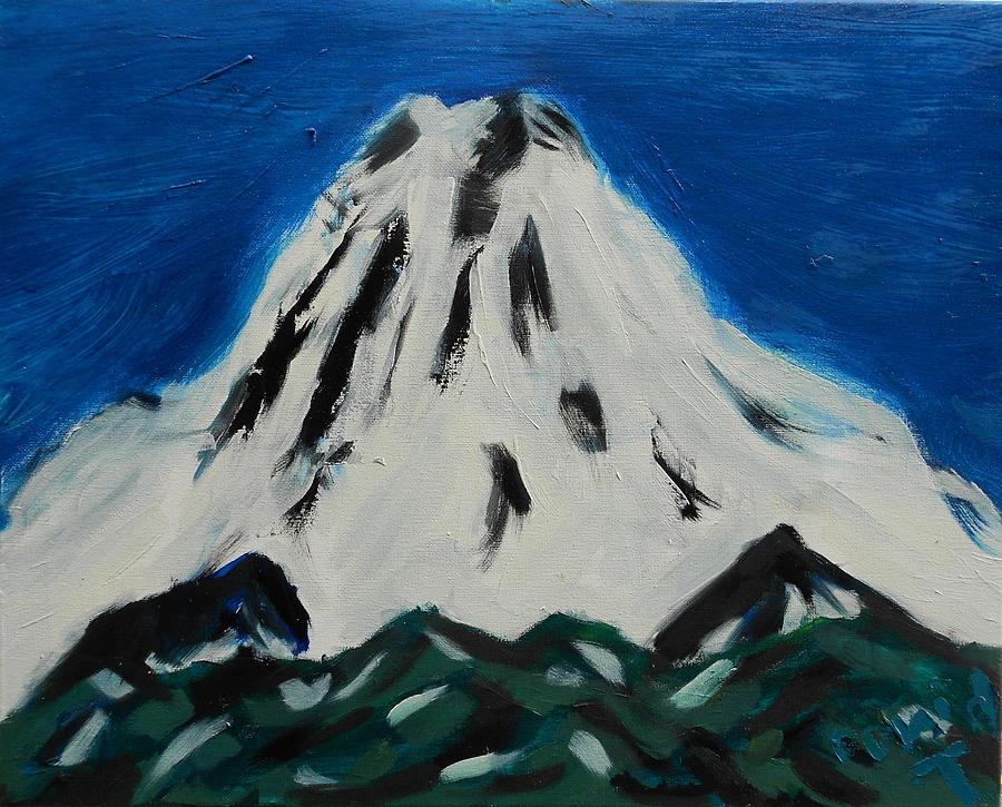 Mt. Rainier Painting - Somewhere Rainier by David Trotter