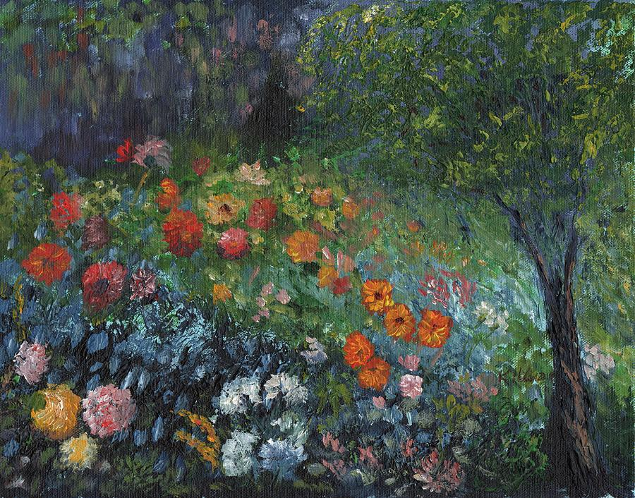 Modern Painting - Somewhere A Garden by William Killen