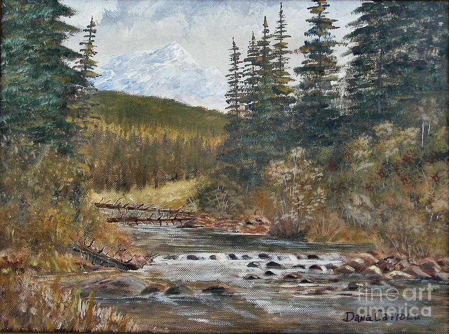 Landscape Painting - Somewhere Above South Fork by Dana Carroll