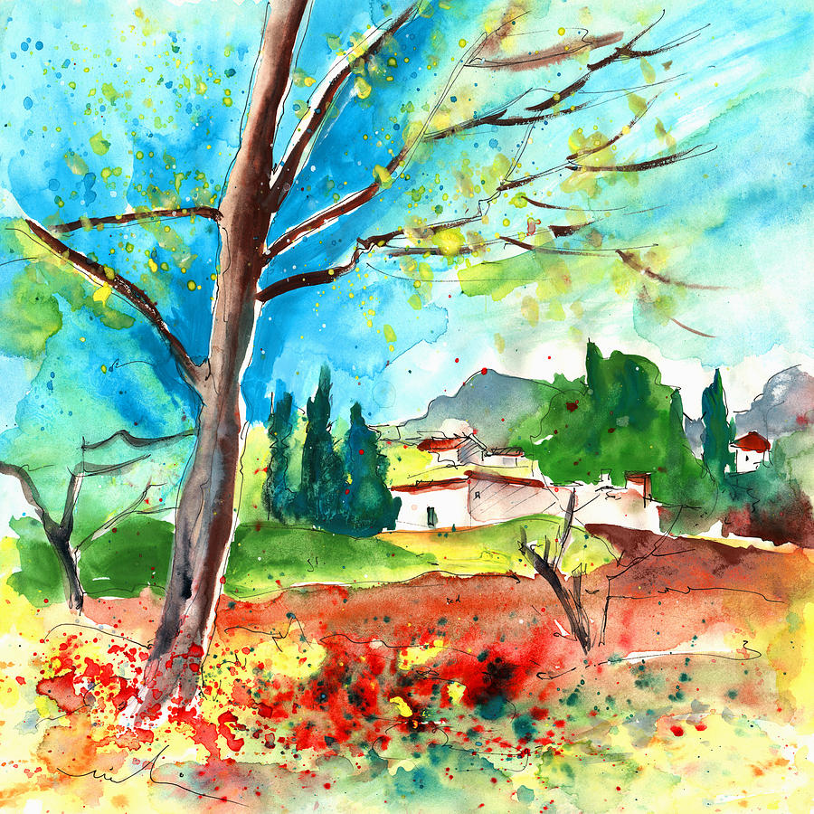 Somewhere In The South Of France Painting