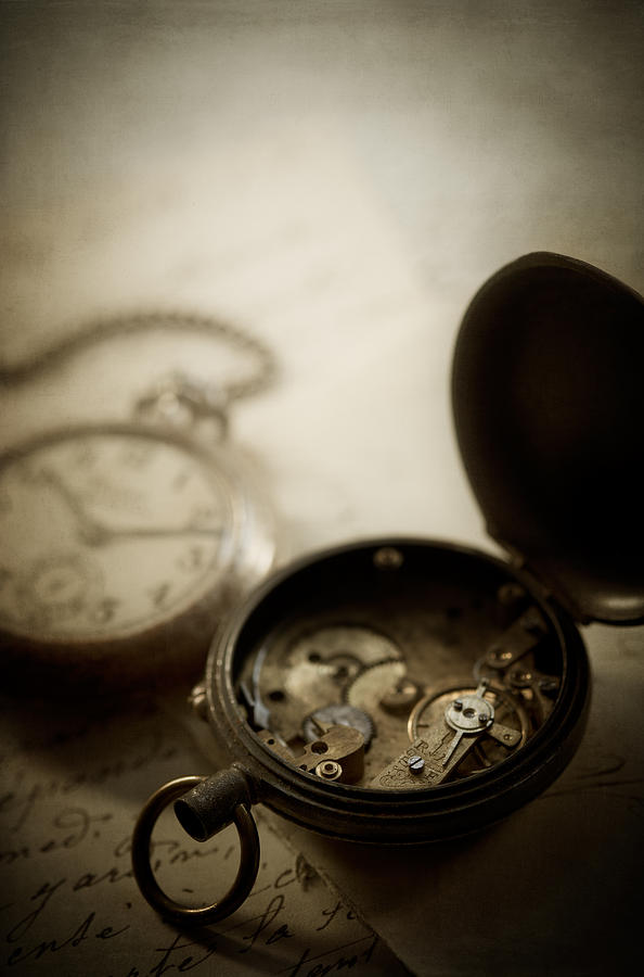Watch Photograph - Somewhere In Time by Amy Weiss