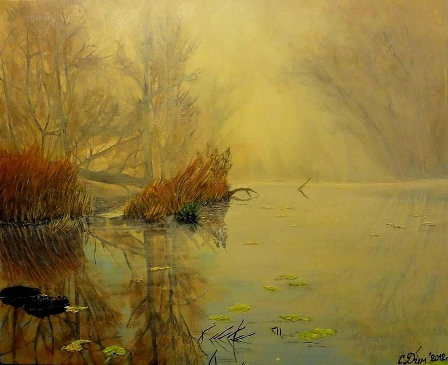 Landscape Painting - Somewhere by Svetla Dimitrova