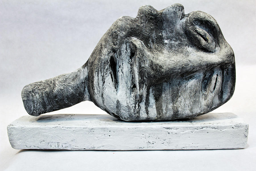 Bust Sculpture - Somnio No. 1  by Mark M  Mellon