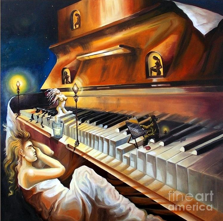Dreams Painting - Song For Dreams by Stan Florin