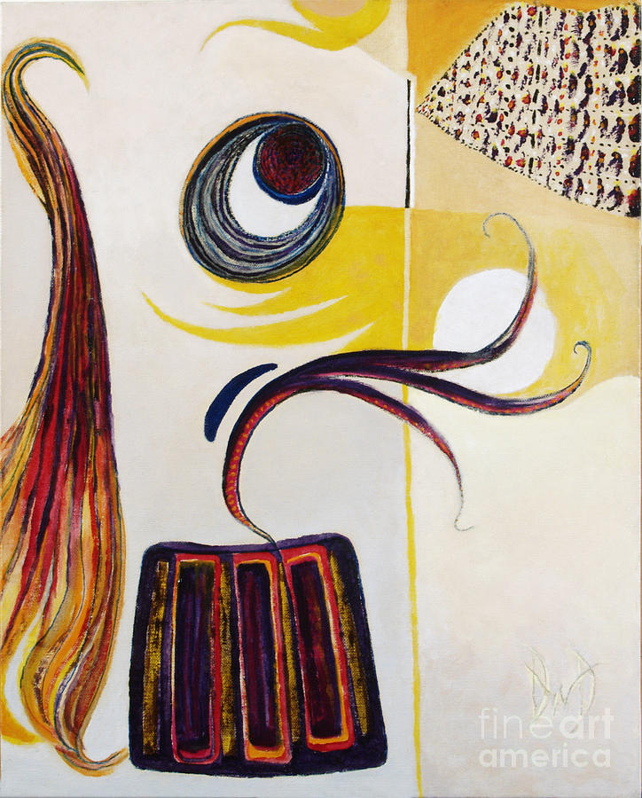 Abstract Expressionism Painting - Song In My Heart by David Douthat