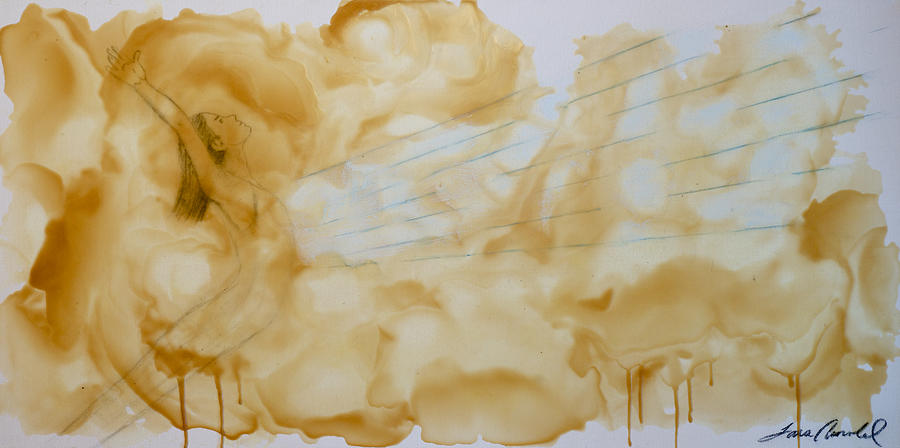 Beeswax Painting - Song Of Love  by T A