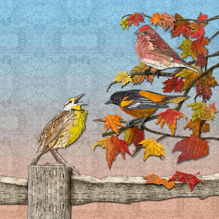 Song to An Autumn Morning by Robin Morgan