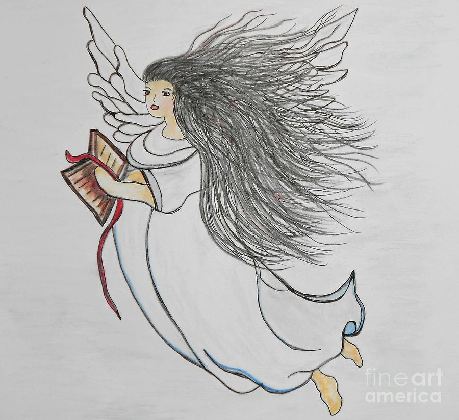 Song Painting - Songs Of Angels by Eloise Schneider