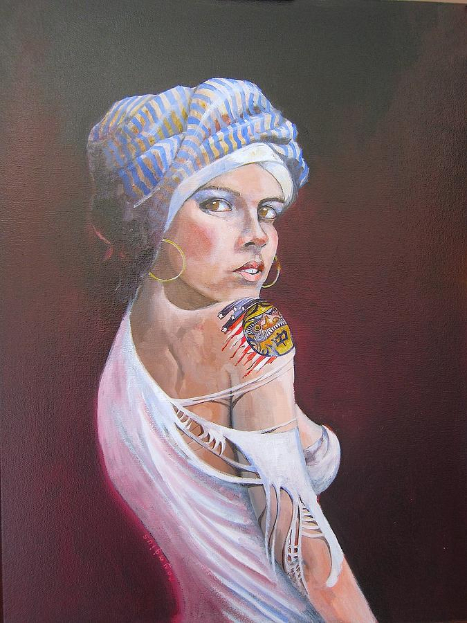 Female Painting - Sonia by Ray Agius