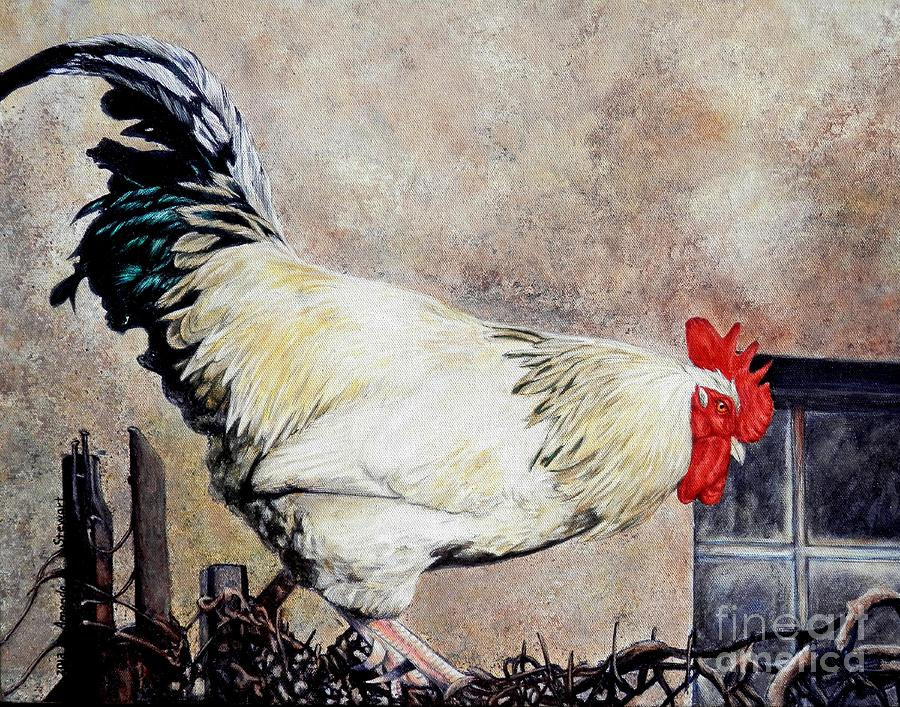 Rooster Painting - Sonoma Rooster by Amanda Hukill