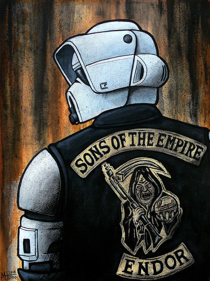 Star Wars Painting - Sons Of The Empire by Marlon Huynh
