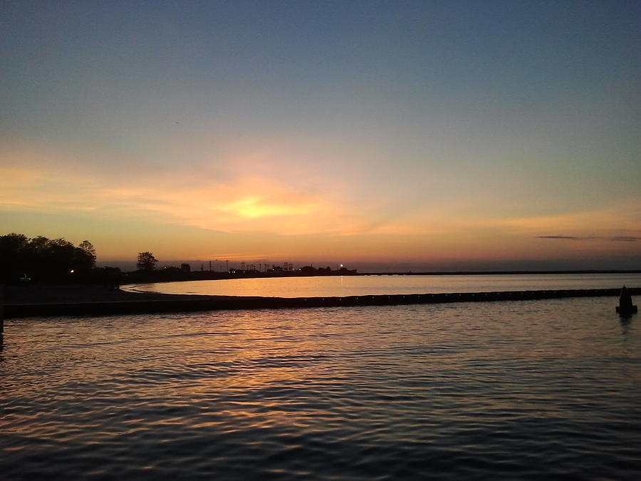 Sunset Photograph - Soothing Sunset by Anastasia Konn