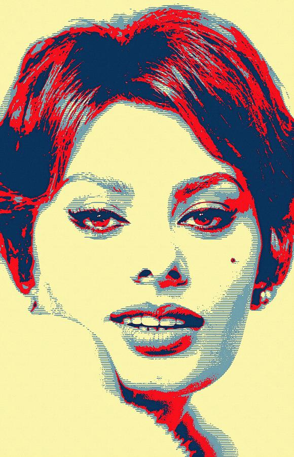 Actress Photograph - Sophia Loren by Art Cinema Gallery