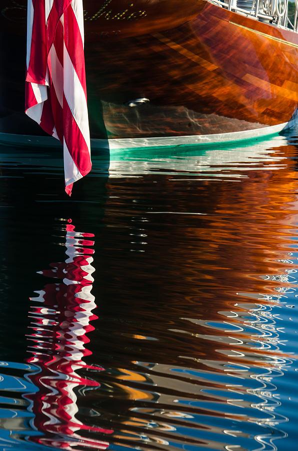 Reflection Photograph - Sophies Reflection by Steve Myrick