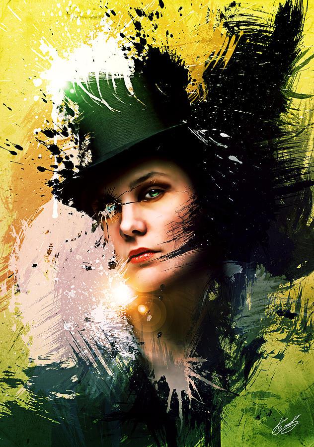 Beautiful Digital Art - Sophisticated by Aj Collyer